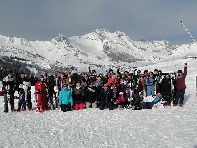 Voyage des 5èmes en Haute-Savoie 0