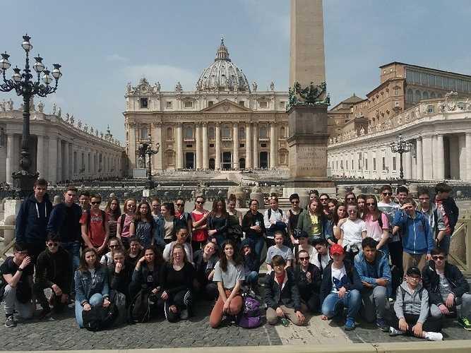 Voyage des 3ème à Rome 0