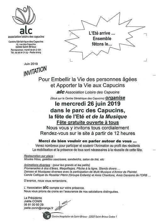 Invitations fête de la musique invitationcapucins