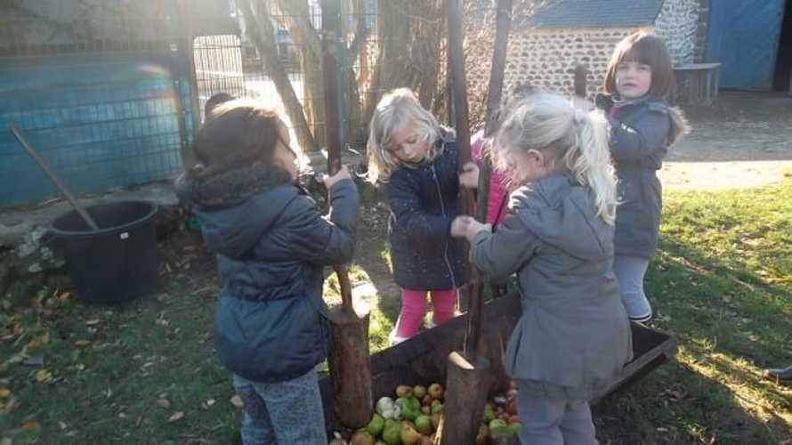 Découverte de la pomme à la ferme de la Ville Oger 0